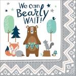 Luncheon Napkins-Bear-ly Wait-16pk-2ply