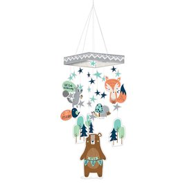 Hanging Decoration- Bear-ly Wait-30""