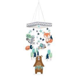 "Hanging Decoration- Bear-ly Wait-30"""