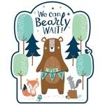 Cutouts-Bear-ly Wait-12pcs
