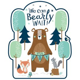 Cutouts-Bear-ly Wait-12pcs