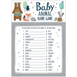 Baby Animal Name Game-Bear-ly Wait- 24pk