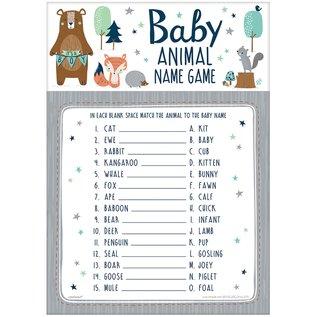 Baby Animal Name Game-Bear-ly Wait- 24pk