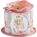 Diaper Centerpiece Kit- Floral baby