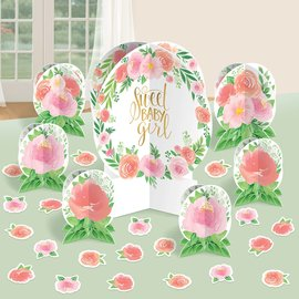 Table Decorating Kit- Floral Baby- 7pcs