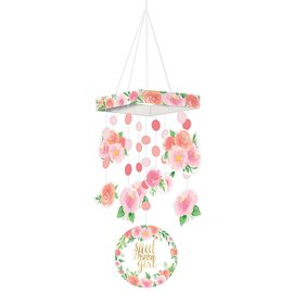 Hanging Decoration-Floral Baby-30""