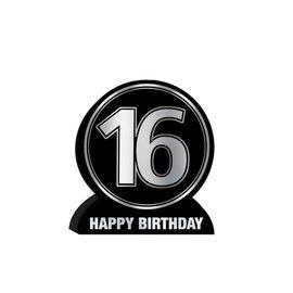 3-D Centerpiece- 16th Birthday