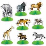 Centerpieces-Mini-Jungle Safari Animal-8pcs