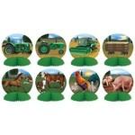 Centerpieces-Mini-Farm Animals-8pcs