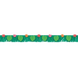 Banner-Fringe-Tropical Jungle-6ft Long