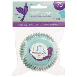 Baking Cups- Mermaid -75pk
