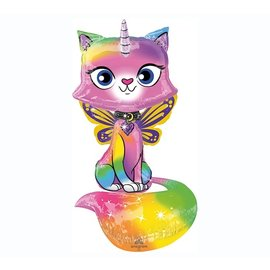 Airwalker-Rainbow Butterfly Unicorn Kitty