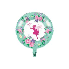 Foil Balloon-Floral Fairy Sparkle-18""