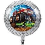 "Foil Balloon-Monster Truck Rally-18"""
