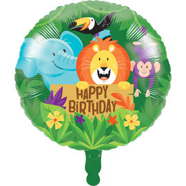 Foil Balloon-Jungle Safari-18""