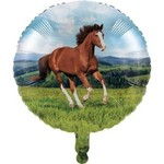 """Foil Balloon-Horse and Pony-18"""""""