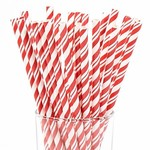 Paper Straws - Classic Red - 24pk