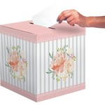 Card Box - Farm House Floral/ 12 x 12In / 1 Count