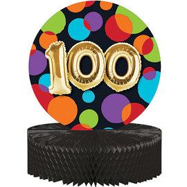 Centerpiece - Balloon Birthday 100 / 9 x 11.7In / 1 Count