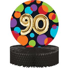 Centerpiece - Balloon Birthday 90- 9 x 11.7In