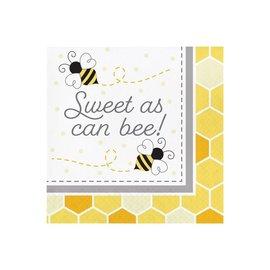 Luncheon Napkins-Bumblebee Baby Sweet-16pk-2ply