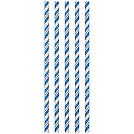 Paper Straws - Cobalt - 24pk
