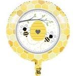 "Foil Balloon-Bumble Bee Baby-18"""
