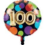 """Foil Balloon-100th Balloon Birthday-18"""""""