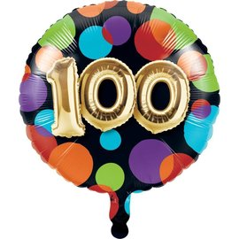 Foil Balloon-100th Balloon Birthday-18""