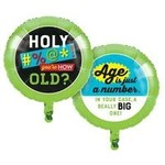 "Foil Balloon-Age Humor-18"""
