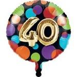 Foil Balloon-40th Balloon Birthday