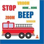 Luncheon Napkins-Traffic Jam-16pk-2ply
