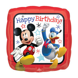 Foil Balloon- Mickey Mouse/2 Sided/18In
