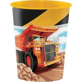 Cups-Plastic-Big Dig Construction-16oz