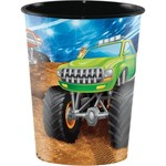 Cups-Plastic-Monster Truck Rally-16oz