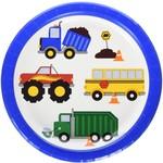 "Beverage Paper Plates-Traffic Jam-8pk-7"""