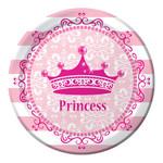 "Beverage Paper Plates-Pink Princess Royalty-8pk-7"""