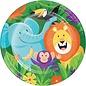 """Luncheon Paper Plates-Jungle Safari-8pk-9"""""""