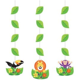Hanging Cutouts-Jungle Safari-3pk