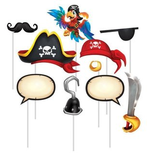 Photo Booth Props-Pirate Treasure-10pk