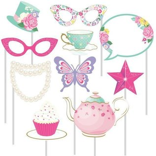 Photo Booth Props-Floral Fairy Sparkle-10pk