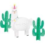 Centerpiece-Llama Party-3pk