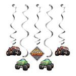 Dizzy Danglers-Monster Truck Rally-5pk