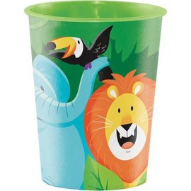 Cups-Plastic-Jungle Safari-16oz