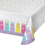 """Tablecover-Llama Party-54"""" x 102"""""""