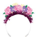 Tiara - Floral Fairy Sparkle - 4pk