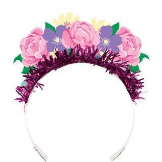 Tiara-Floral Fairy Sparkle-4pk
