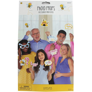 Photo Booth Props-What Will it Bee?-13pk
