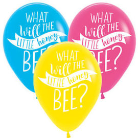 Balloons-Latex-What Will it Bee?-15pcs-12'