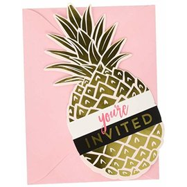 Invitations- Pineapple Wedding- 8pk